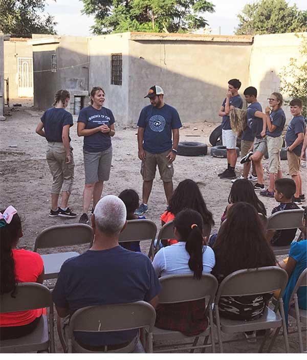 Programa evangelístico al aire libre JUCUMepj