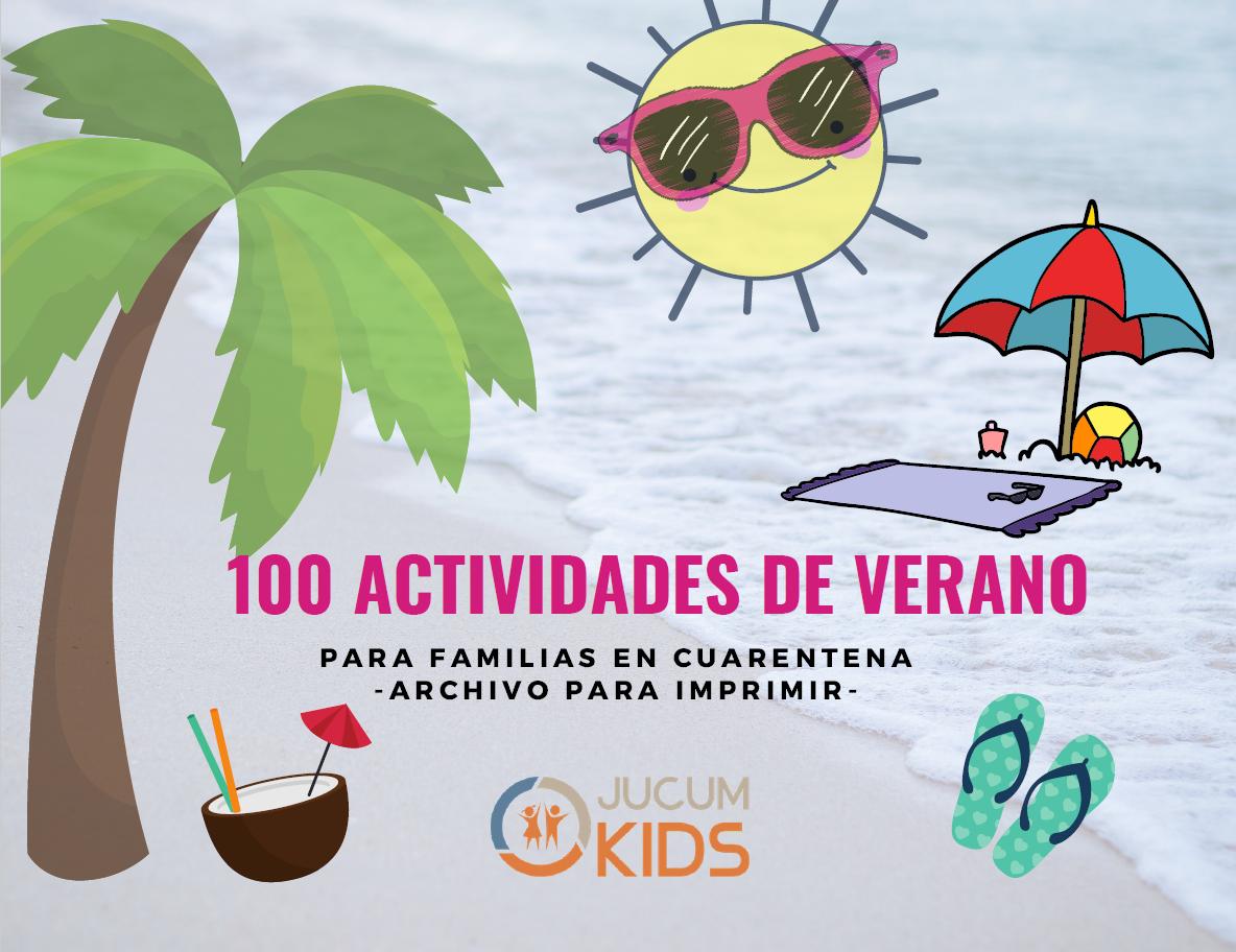 100 actividades para el verano JUCUM Kids